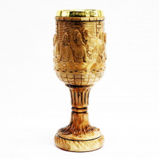 Chalice with Carved Last Supper