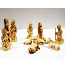 Nativity Figures - Olive Wood M